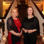 Pictured at the Shannon Region Ambassador Awards 2019 in Dromoland Castle are Jeannette Ferguson and Roisin Hayes from Mary Immaculate College. Picture: Kate Devaney/ilovelimerick.