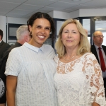 At the Simon Zebo Mayoral reception Jessica Zebo and Rosemary Duffy. Picture: Zoe Conway/ilovelimerick.