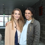 At the Simon Zebo Mayoral reception Elvira Fernandez and Jessica Zebo. Picture: Zoe Conway/ilovelimerick.
