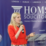 Inspirational Motivational Speaker Sinead Kane spoke at an awards ceremony at Holmes O'Malley Sexton in honour of the  recipients of the Bon Secours Hospital Great Limerick Run 2018 Fittest Company Challenge. Picture: Zoe Conway/ilovelimerick.com 2018. All Rights Reserved.