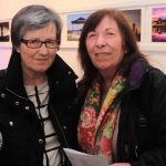 Pictured at the St Munchin's Photography Club's 'Moments in Time' Exhibition in the Belltable Arts Hub are Carmel Mullins and Margaret Quinnwallis. Picture: Conor Owens/ilovelimerick.