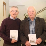 Pictured at the St Munchin's Photography Club's 'Moments in Time' Exhibition in the Belltable Arts Hub are Keven Kiely and Martin Kiely. Picture: Conor Owens/ilovelimerick.