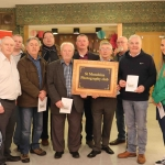 Pictured at the St Munchin's Photography Club's 'Moments in Time' Exhibition in the Belltable Arts Hub are Pat Nash, David Woodland, Pat Murphy, Patrick Corr, Martin Kiely, Tony Ryan, Chairperson of the Photography club, Keven Kiely, Eddy Kiely, Cllr John Costello and Aoife Doyle. Picture: Conor Owens/ilovelimerick.