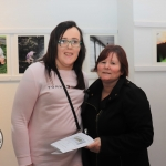 Pictured at the St Munchin's Photography Club's 'Moments in Time' Exhibition in the Belltable Arts Hub are Alison and Katherine Quinvilin. Picture: Conor Owens/ilovelimerick.