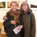 Pictured at the St Munchin's Photography Club's 'Moments in Time' Exhibition in the Belltable Arts Hub are Dawn and Magda McCarthy. Picture: Conor Owens/ilovelimerick.