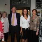 Michelina Stacpoole, Majella Shinnors, George Stacpoole, Celia Holman Lee, Naomi O'Nolan and Jill Cousins at 'Sybil: An Irish entrepreneur & fashion designer' at the Hunt Museum. Picture: Zoe Conway/ilovelimerick 2018. All Rights Reserved