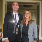Tait House hosted a fundraiser for local group of bereaved parents, Lost Futures on September 6 at Mr.Tait\'s Cafe. Pictured: Cllr Daniel Butler, Mayor of the Metropolitan District of Limerick and Tracey Corbett Lynch, CEO of Tait House. Picture: Baoyan Zhang/ilovelimerick