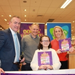 "The book signing for ""The Dolls Complaints"" is held in Dunnes Store on Childers Road. The book is written by the 11-year-old Keeva Delaney from Co. Carlow. Priced at €8, all the proceed of the book selling will go to Cliona's Foundation. Pictured are Brendan Ring, Cliona's Foundation CEO, Joe Schmidt, Irish Rugby head coach with Keeva Delaney and Joy Neville, Rugby Union Referee and Cliona's Foundation Ambassador. Picture: Simran Kapur/ilovelimerick"