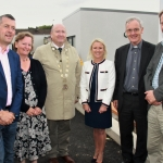 TD Maurice Quinlivan, KJ Architect Jane Harris, Metropolitan District Mayor of Limerick City Sean Lynch, Sinead Toomey, Principal of Thomond Primary School, Chairperson Canon Donal MacMamara and KJ Architect Kevin Jackson at the official opening of the new school extension of Thomond Primary School, Ballynanty, Friday, June 15th, 2018. Picture: Sophie Goodwin/ilovelimerick.