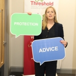 Pictured at the launch of Threshold's new Advice Clinic in Limerick Citizens Information Centre is Edel Conlon, Southern Regional Manager of Threshold. Picture: Conor Owens/IloveLimerick.