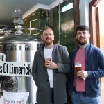 Pictured at the launch of the Treaty City Brewery in Limerick's Medieval Quarter. Picture: Orla McLaughlin/ilovelimerick.