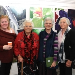 Pictured at the VTOS Limerick 2019 Art, Craft & Design Open Day in the Further Education & Training Centre are student Helen Brandon, 6 Mile Bridge, Clare, Maire O Donovan, Crecora Ann Hurley, Parnell Street, and Noreen Brandon, Oatfields, 6 Mile Bridge. Picture: Conor Owens/ilovelimerick.