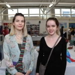 Pictured at the VTOS Limerick 2019 Art, Craft & Design Open Day in the Further Education & Training Centre Sibeal Meehan, Clonlara, and Laoise Meehen, Clonlara. Picture: Conor Owens/ilovelimerick.