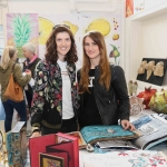 Pictured at the VTOS Limerick 2019 Art, Craft & Design Open Day in the Further Education & Training Centre are Alona Cuprina, Sheep Street, and Ludmila Sevjahova, Henry Street. Picture: Conor Owens/ilovelimerick.