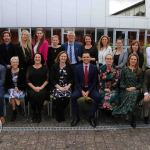 Pictured at the VTOS 2019 Graduation Ceremony are all of the staff at VTOS. Picture: Richard Lynch/ilovelimerick.