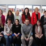 Pictured at the VTOS 2019 open day are members of the Department of Employment Affairs and Social Protection. Picture: Conor Owens/ilovelimerick.
