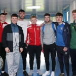 Pictured at the VTOS 2019 open day are students of the FAI Soccer Skills course, including Adam Gilbett from Newmarket-on-Fergus, Shane Clohessy, Talbot Ave, Shane Kelly, Corbally Rd, Luke Ward, Moyross, TJ O'Dwyer from Shannon Street, Boris Power, Moyross and Dean Neary from Kilrush. Picture: Conor Owens/ilovelimerick.