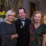 Dorothy Meaney, Zondra's Mother with Myles Breen and Joan Sheehan at a Wilde Night in the Drawing Room: A benefit event for Zondra Meaney's Treatment Fund. picture: Cian Reinhardt/ilovelimerick